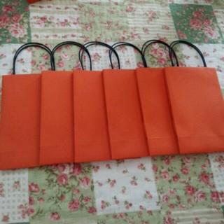 新品、ミニギフト紙袋6点(カード/レター/ラッピング)