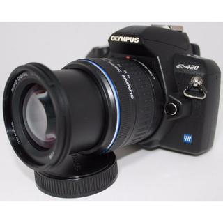 オリンパス(OLYMPUS)の✳️良品✳️E-420 レンズキット ✳️初心者入門機✳️(デジタル一眼)