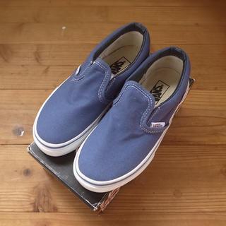 ヴァンズ(VANS)の* 新品 * vans classic slip-on Navy 17.5cm (スニーカー)