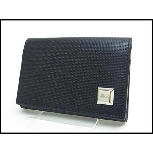 Gucci(グッチ)のGUCCI グッチ レザー 名刺入れ カードケース 203634 黒 メンズのファッション小物(名刺入れ/定期入れ)の商品写真
