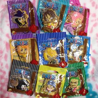 ワンピース☆クッキーマスコットセット(キャラクターグッズ)