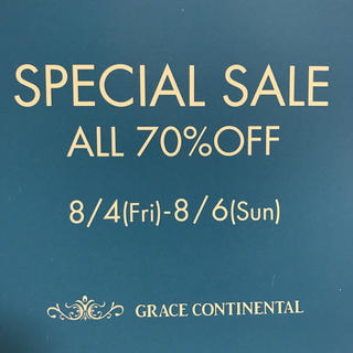 グレースコンチネンタル(GRACE CONTINENTAL)のグレースコンチネンタル sale(その他)