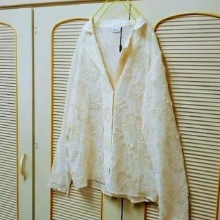 アクリス(AKRIS)のAKRIS  新品 シルクジャケット (シャツ/ブラウス(長袖/七分))