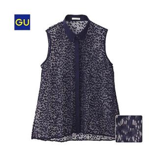 ジーユー(GU)のgu ジーユー ブラウス(シャツ/ブラウス(半袖/袖なし))