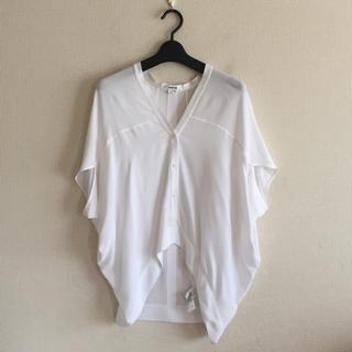 ヘルムートラング(HELMUT LANG)のヘルムート・ラング♡デザインシャツ(シャツ/ブラウス(半袖/袖なし))