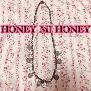 ハニーミーハニー(Honey mi Honey)の★HONEY MI HONEY★コイン チェーン ネックレス(ネックレス)