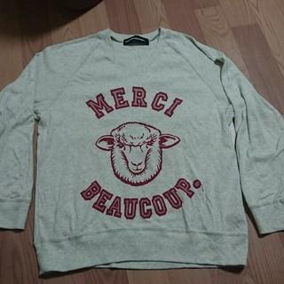 メルシーボークー(mercibeaucoup)のメルシーボークー Vネックトレーナー(スウェット)