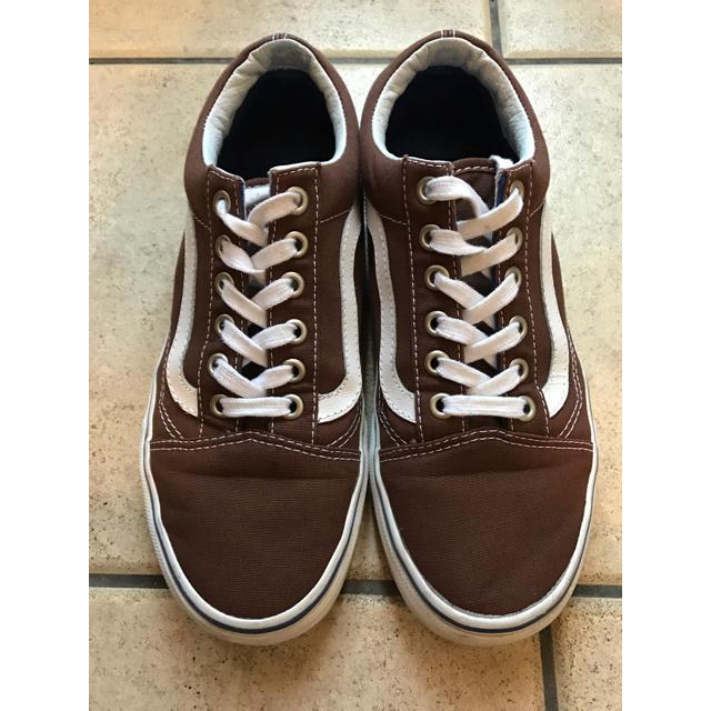 VANS(ヴァンズ)のVANS オールドスクール 茶色 23.5 レディースの靴/シューズ(