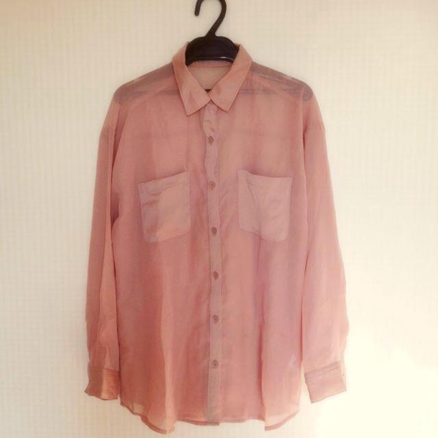 GU(ジーユー)のg.u. シースルートップス レディースのトップス(Tシャツ(長袖/七分))の商品写真