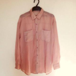ジーユー(GU)のg.u. シースルートップス(Tシャツ(長袖/七分))