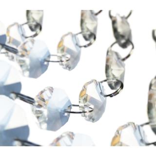 キワセイサクジョ(貴和製作所)の◆◆高純度透明ガラスビーズ14㎜&リング各500個◆◆(各種パーツ)