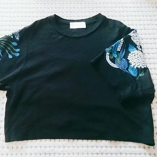 マメ(mame)のyuuk99様専用♪mame kurogouchi 17SS 刺繍トップス(カットソー(半袖/袖なし))