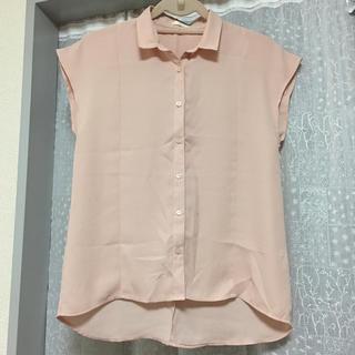 ジーユー(GU)のレディース ブラウス (シャツ/ブラウス(半袖/袖なし))