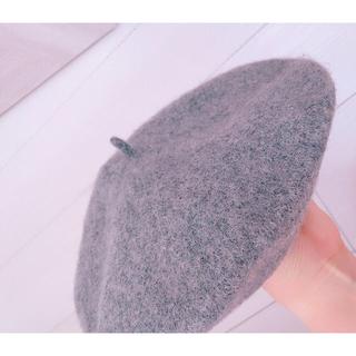 アースミュージックアンドエコロジー(earth music & ecology)の最終お値下げ🌹 ウールベレー帽♡(ハンチング/ベレー帽)