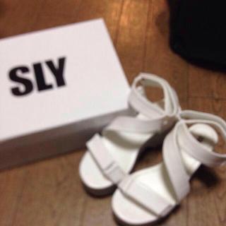 スライ(SLY)のパクちゃん専用ページ(サンダル)
