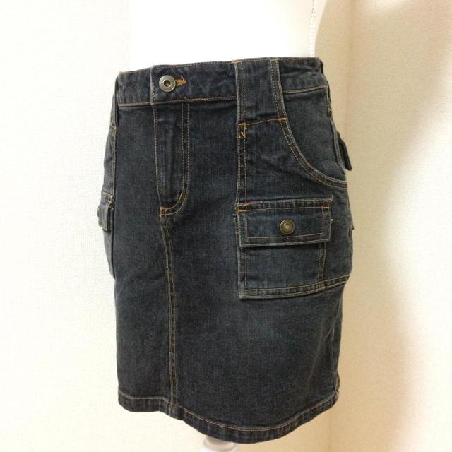 Avail(アベイル)のデニム素材 ミニスカート レディースのスカート(ミニスカート)の商品写真