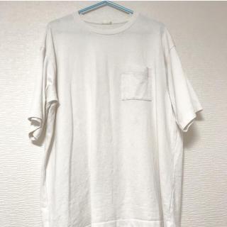 ジーユー(GU)のビック白T(Tシャツ(半袖/袖なし))