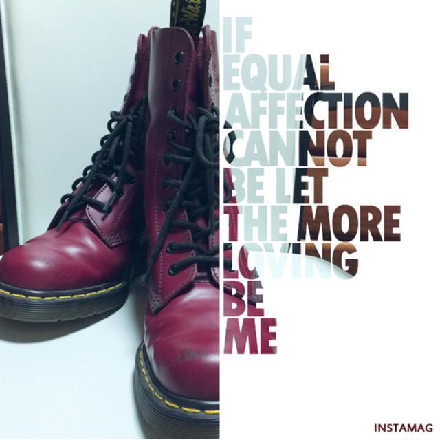 Dr.Martens(ドクターマーチン)の【Dr.Martens】ブーツ(数量限定・ロゴ入り) レディースの靴/シューズ(ブーツ)の商品写真