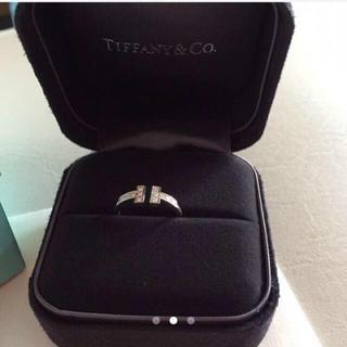 ティファニー(Tiffany & Co.)のティファニーTワイヤーリング(リング(指輪))
