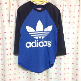 アディダス(adidas)のラグランTシャツ(Tシャツ(長袖/七分))