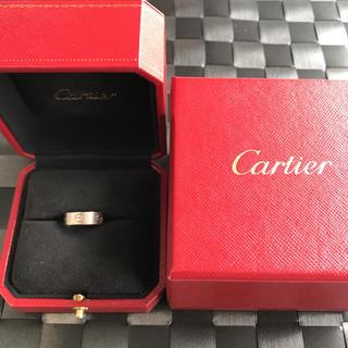 カルティエ(Cartier)の《えみさん専用》カルティエ ラブリング 7号 K18ホワイトゴールド(リング(指輪))