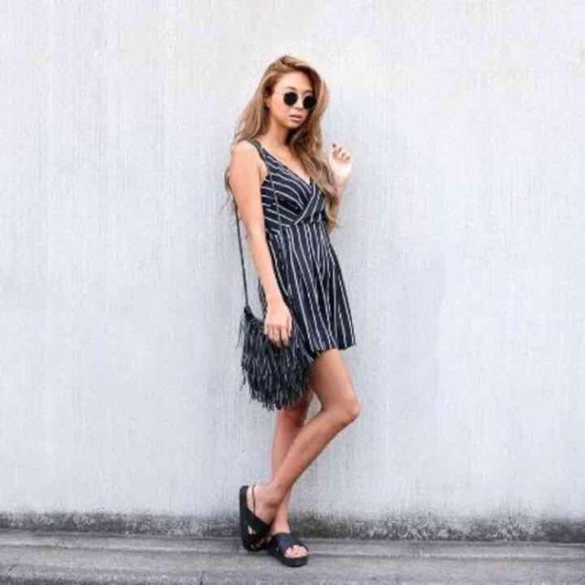 room306 CONTEMPORARY(ルームサンマルロクコンテンポラリー)のroom306☆シールームリン☆オールインワンブラック レディースのパンツ(オールインワン)の商品写真