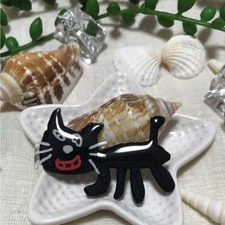 キヨ猫 ブローチ(大)×2(コサージュ/ブローチ)