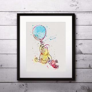 ディズニー(Disney)のくまのプーさん&ピグレット② │ ディズニー/Disney │ アートポスター(ポスター)