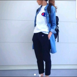 ジーユー(GU)のジーユー デニム ロングシャツ(シャツ/ブラウス(半袖/袖なし))