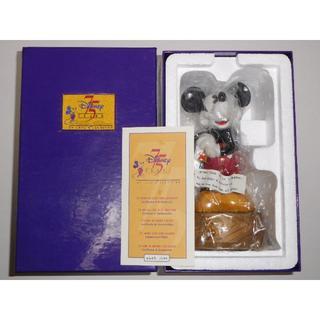 ディズニー(Disney)のディズニー 生誕75周年記念 1000個限定 ミッキーマウス 陶器(彫刻/オブジェ)