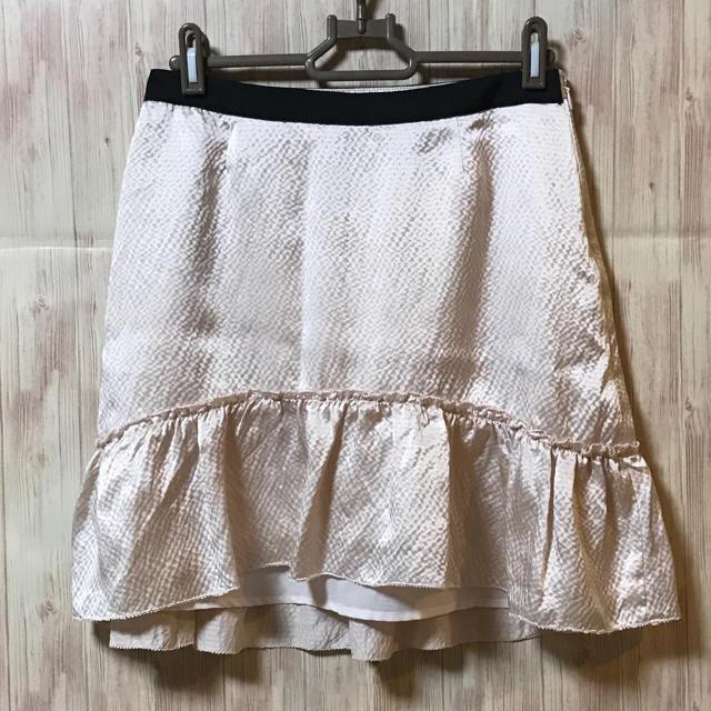 Cynthia Rowley(シンシアローリー)のシンシアローリー CYNTHIA ROWLEY シルクスカート 2 ピンク レディースのスカート(ひざ丈スカート)の商品写真