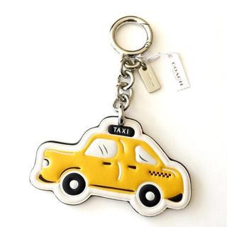 コーチ(COACH)の【限定品】新品♡COACH キーホルダー ニューヨーク タクシー(キーホルダー)