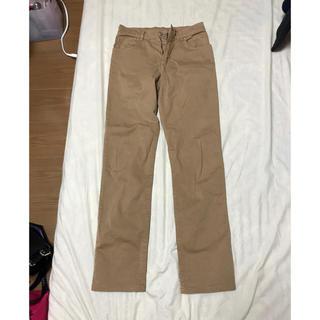 シマロン 茶色 タイトな履きやすいストレッチ入り メンズパンツ 28位です!