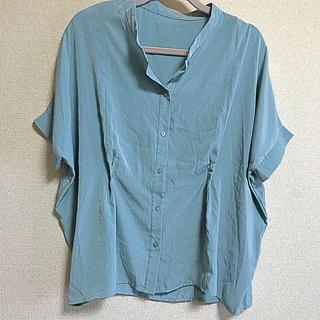 ジーユー(GU)のジーユー シャツ(シャツ/ブラウス(半袖/袖なし))