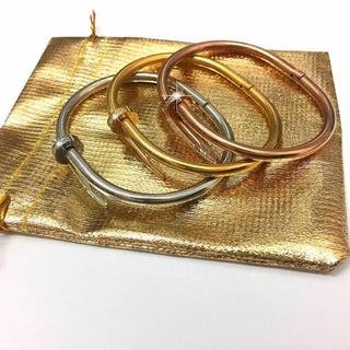 セット売り!チタンステンレス釘ブレス&リング(リング(指輪))