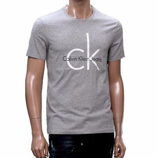 カルバンクライン(Calvin Klein)の【即日発送】CALVIN KLEIN Tシャツ XSサイズ グレー(Tシャツ/カットソー(半袖/袖なし))