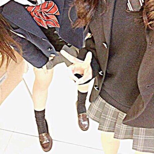 高校♡制服4点セット エンタメ/ホビーのコスプレ(衣装)の商品写真