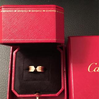 カルティエ(Cartier)のカルティエ C2リング ダイヤ YG(リング(指輪))
