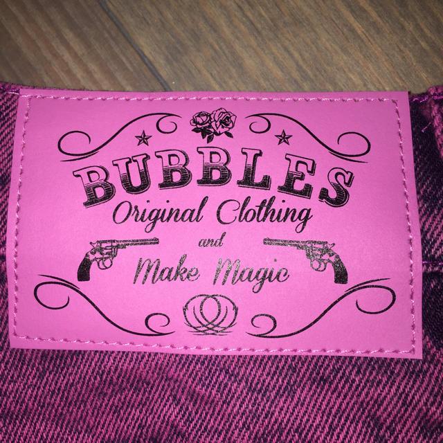 Bubbles(バブルス)のハイウエストショートパンツ レディースのパンツ(ショートパンツ)の商品写真