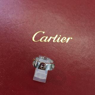カルティエ(Cartier)の最安❣️カルティエハーフダイヤラブリング #47(リング(指輪))