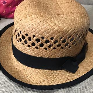 サマンサモスモス(SM2)のSM2 麦わら帽子(ハット)