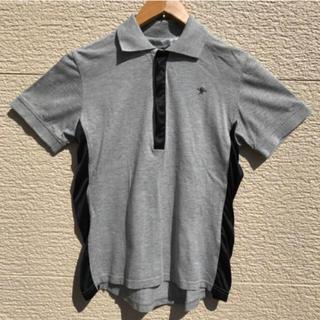 ジョンローレンスサリバン(JOHN LAWRENCE SULLIVAN)のジョンローレンスサリバン ポロシャツ メンズ 34 黒 グレー ブラック(ポロシャツ)