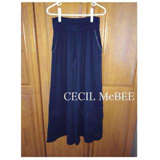 セシルマクビー(CECIL McBEE)のCECIL McBEE ワイドパンツ(カジュアルパンツ)