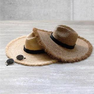 ルームサンマルロクコンテンポラリー(room306 CONTEMPORARY)のroom306 CONTEMPORARY  Summer Wide Hat(麦わら帽子/ストローハット)