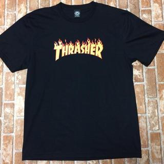 スラッシャー(THRASHER)の未使用☆THRASHER スラッシャー Tシャツ 黒 Lサイズ (Tシャツ/カットソー(半袖/袖なし))