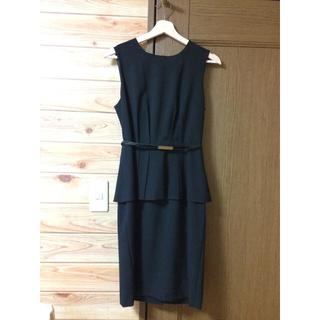 カルバンクライン(Calvin Klein)のカルバンクライン ドレス 結婚式💙(ミディアムドレス)