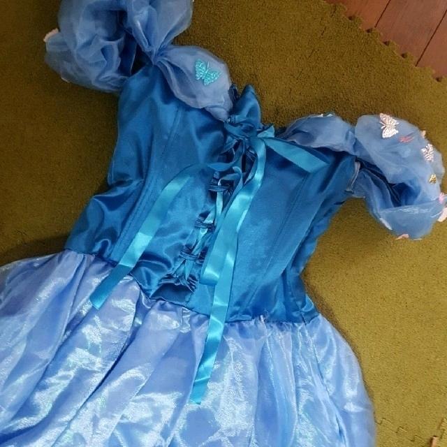 Disney(ディズニー)のディズニーハロウィン シンデレラ コスプレ ドレス エンタメ/ホビーのコスプレ(衣装)の商品写真