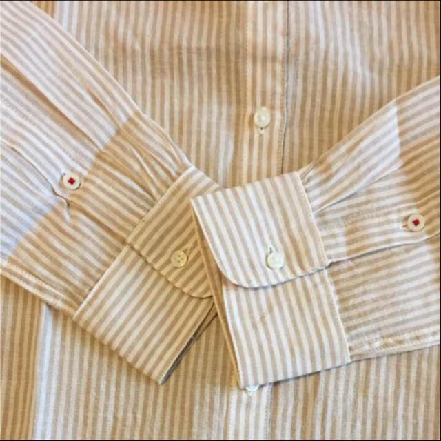 TOMMY HILFIGER(トミーヒルフィガー)のトミーフィルフィガー 長袖シャツ ストライプ レディースのトップス(シャツ/ブラウス(長袖/七分))の商品写真