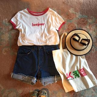 ロキエ(Lochie)のused Tシャツ  本日まで(Tシャツ/カットソー(半袖/袖なし))
