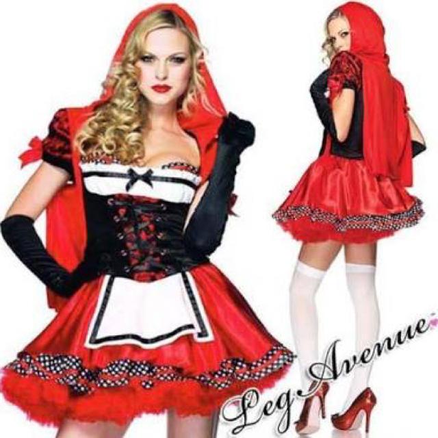 【値下げ5000⇨3700】Leg Avenue 赤ずきんコスチュームMsize エンタメ/ホビーのコスプレ(衣装)の商品写真